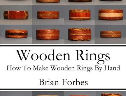 My book on making wooden rings is based on using the minimal tool set, so that y...