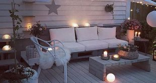 Cozy terraces: magnificent ideas with no cost and large investments