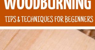click for woodburning tips and techniques for beginners! Make your own wood burn...