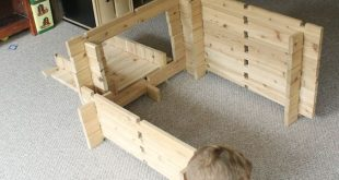 These DIY wood building blocks for kids are the best toy for imagination and can...