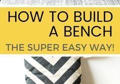 If you've suddenly decided your home (or garden) is in need of a bench, why not ...